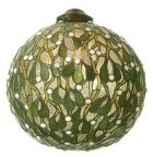 Mistletoe Tiffany lamp shade